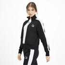 PUMA 流行系列CLASSICS T7立領外套(F) 59520401女款 黑白【iSport愛運動】