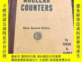 二手書博民逛書店electron罕見and nuclear counters 電