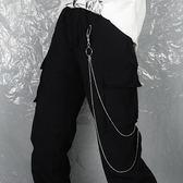 腰錬個性金屬朋克掛錬圓珠褲錬腰錬雙層錬條配飾潮流男 黛尼時尚精品