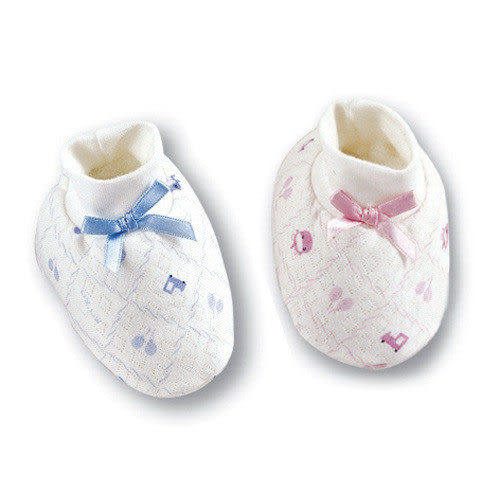 【奇買親子購物網】酷咕鴨KU.KU. 可愛束口護腳套(藍色/粉色)