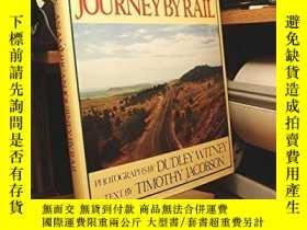 二手書博民逛書店American罕見Journey by Rail-美國鐵路旅行Y443421 Timothy Jacobso
