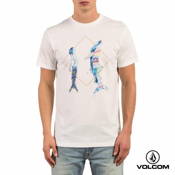 VOLCOM PANGEASEED 聯名款 VEXTA S/S 短袖T-Shirt -純白