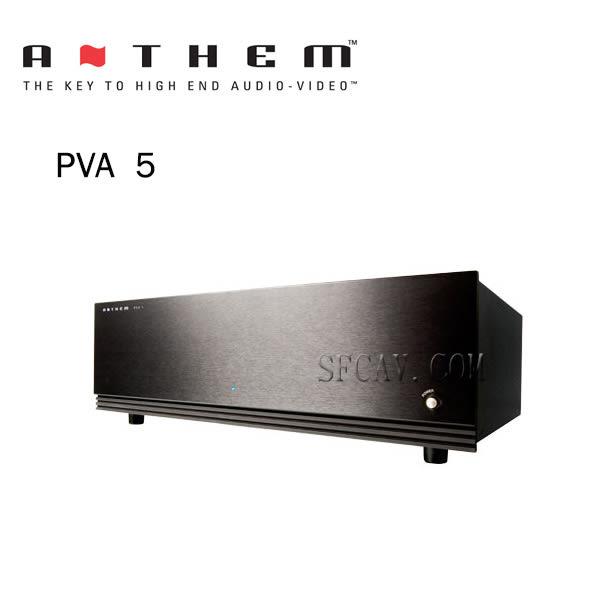 【竹北勝豐群音響】 Anthem PVA5  後級擴大機  (Wadia/Pass/Denon)