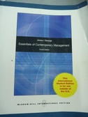【書寶二手書T6/大學商學_QNL】Essentials of Contemporary Management_Jone