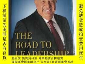 二手書博民逛書店THE罕見ROAD TO LEADERSHIP:finding