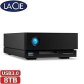 LaCie 8TB 1big Dock Thunderbolt 3 專業級硬碟 (STHS8000800)