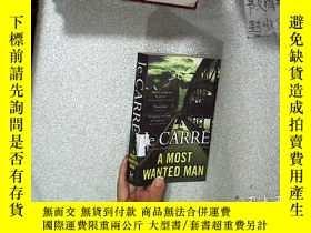 二手書博民逛書店Le罕見CARRE A MOST WANTED MAN 勒卡爾是