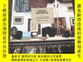 二手書博民逛書店Vintage罕見Menswear -A Collection From The Vintage Showroom