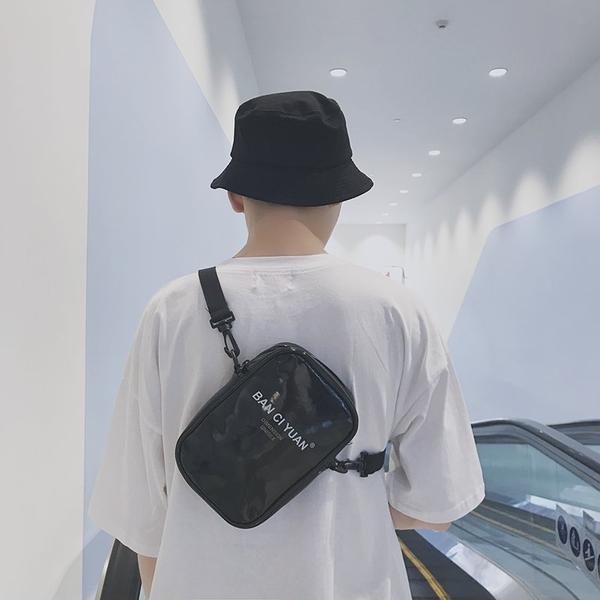 FINDSENSE品牌 韓國 新款 百搭時尚  嘻哈挎包 單肩包 腰包 錢包 側背包 斜跨小包包 旅行包 潮流
