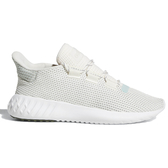 Adidas TUBULAR DUSK 女鞋 慢跑 休閒 小350 針織網面 米白 【運動世界】 B37765