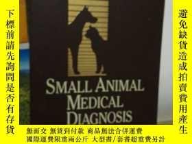二手書博民逛書店SMALL罕見ANIMAL MEDICAL DIAGNOSIS 2nd EditionY24040 micha
