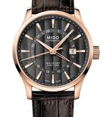 MIDO美度錶Multifort 雙時區自動機械錶(M0384293606100)玫瑰金/42mm