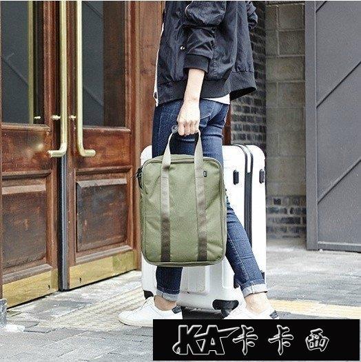快速出貨 旅行袋手提包單肩男女登機登機行李包旅游套拉桿箱出差短【新春快樂】