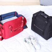 《J 精選》行李箱拉桿適用 多功能耐磨耐用防潑水手提旅行袋/收納袋
