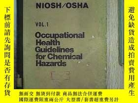 二手書博民逛書店OCCUPATIONAL罕見HEALTH GUIDELINES