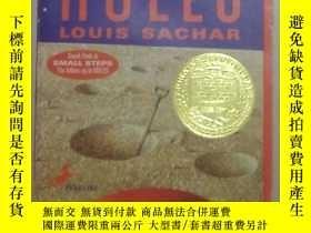 二手書博民逛書店英文原版罕見Holes by Louis Sachar 著Y278082 Louis Sachar