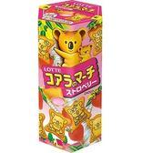 LOTTE 樂天 小熊餅-草莓 37g