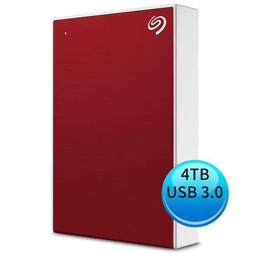 (2019新款) Seagate Backup Plus Portable 4TB USB3.0 2.5吋 外接硬碟 櫻桃紅 STHP4000403