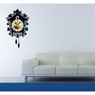 【收藏天地】RoomDeco*創意時鐘壁貼家飾-懷舊小屋 /掛鐘 時鐘貼 居家 生活用品 時鐘 禮物