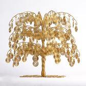 擺件 搖錢樹發財樹擺件客廳辦公室店鋪家居裝飾品招財樹開業 夢藝家
