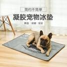 寵物坐墊 寵物冰墊狗狗涼席冰床夏天降溫水墊床墊狗墊子凝膠坐墊