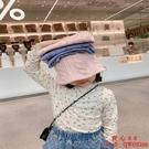 女童秋裝兒童韓版T恤衫小童碎花打底衫寶寶洋氣長袖上衣【齊心88】
