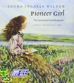 [104美國直購] 2015 美國暢銷書排行榜Pioneer Girl: The Annotated Autobiography.Hardcover