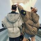 情侶款保暖外套男學生外套正韓短版寬鬆情侶外套