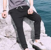 中國風夏季休閒褲韓版潮流休閑亞麻運動褲子 st208『寶貝兒童裝』