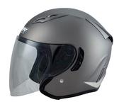 【東門城】M2R J-5 素色 消光鐵灰 3/4罩安全帽