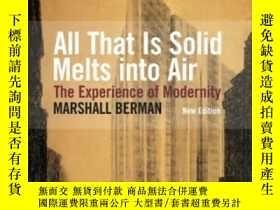 二手書博民逛書店All罕見That Is Solid Melts Into AirY307751 Marshall Berma