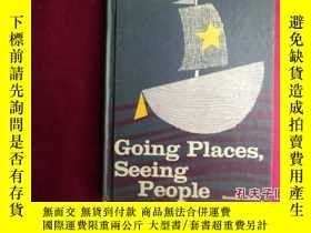 二手書博民逛書店Going罕見Places Seeing PeopleY1610
