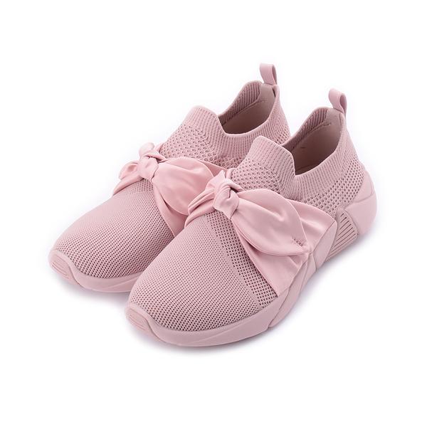 SKECHERS A-LINE 綁帶運動鞋 粉 68849PNK 女鞋