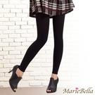 MarieBella 140D高彈力刷毛保暖九分褲襪 (黑)【KS12019】i-Style居家生活