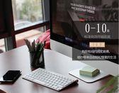 無線鍵盤-無線筆記本電腦小鍵盤靜音USB外接超薄台式白 東川崎町