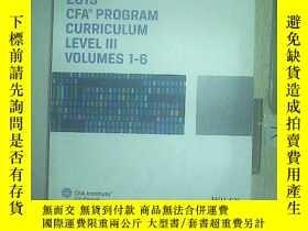 二手書博民逛書店2019罕見CFA課程三級 2019 CFA PROGRAM C