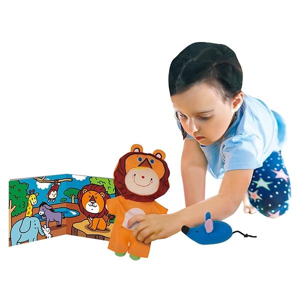 【香港 Ks Kids 奇智奇思】SB00476 角色扮演遊戲組︰獅子和兔子