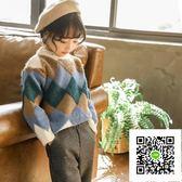 女童毛衣  女童毛衣秋冬裝新款中小兒童韓版洋氣針織衫線衫5歲寶寶上衣7 歐歐流行館