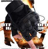 攀登拳手套散熱透氣孔排汗春夏用登山戰術手套半指薄款健身歐美版   XY3878  【KIKIKOKO】