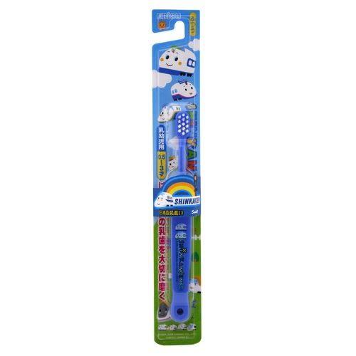 新幹線 0.5~3歲兒童牙刷B-S14(顏色隨機出貨)[衛立兒生活館]