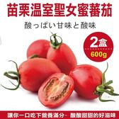 89元起【果之蔬-全省免運】苗栗溫室聖女蜜蕃茄X2盒(600g±10%含盒重/盒)