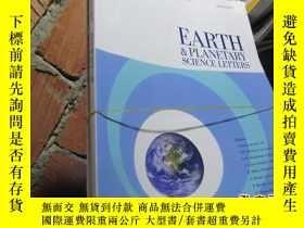 二手書博民逛書店earth罕見planetary science letters