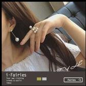 5天出貨★珍珠流蘇耳環★ifairies【33769】