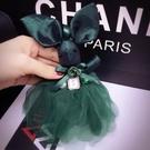 包包掛件 可愛蕾絲裙兔子掛件時尚汽車鑰匙扣掛件女士包包掛飾