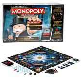 桌遊 地產大亨 MONOPOLY 益智玩具 團康遊戲 孩之寶Hasbro 桌遊大富翁 極限電子銀行版 B6677
