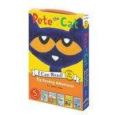 【I Can Read :My First】PETE THE CAT BIG READING ADVENTURE/ 5書合輯