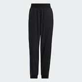 Adidas STR PANT MIX 女裝 長褲 休閒 多彩線條 拉鍊口袋 黑【運動世界】H09726