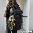 登山包後背包男大容量背包簡約休閒旅行包防水運動戶外旅游登山包 艾家