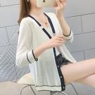 冰絲針織空調開衫夏天女士毛衣2020年冬季新款薄外搭短外套防曬衣 安雅家居館