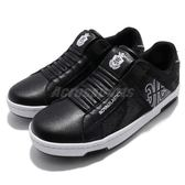 Royal Elastics 休閒鞋 Icon 黑 白 特殊鞋面材質 無鞋帶設計 皮革鞋面 女鞋【PUMP306】 92081990